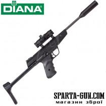 Пістолет пневматичний Diana LP8 Magnum Tactical