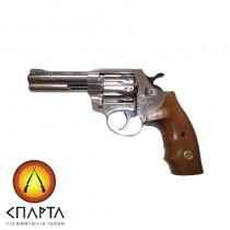 Револьвер Флобера ALFA model 440 (никель, дерево)