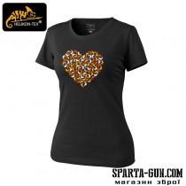 Футболка женская - CHAMELEON HEART