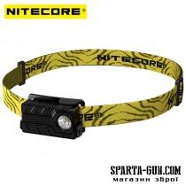 Ліхтар налобний Nitecore NU20 (Сree XP-G2 S3, 360 люмен, 6 режимів, USB), чорний