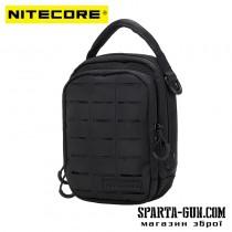Сумка EDC, тактична Nitecore NUP10 (Cordura 1000D), чорна