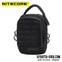 Сумка EDC, тактична Nitecore NUP20 (Cordura 1000D), чорна