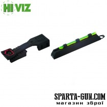 Мушка Hiviz 4&1 Sight
