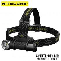 Ліхтар налобний Nitecore HC30w (Cree XM-L2 U2 1000 люмен, 8 режимів, 1x18650), теплий білий