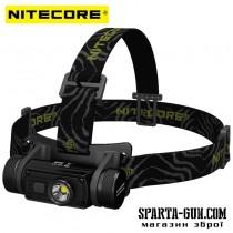 Ліхтар налобний Nitecore HC60 (Cree XM-L2 U2 1000 люмен, 8 режимів, 1x18650, USB)