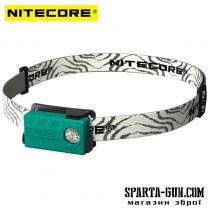 Ліхтар налобний Nitecore NU20 (Сree XP-G2 S3, 360 люмен, 6 режимів, USB), зелений