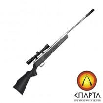 Пневматическая винтовка  Beeman Silver Kodiak X2 Gas Ram с прицелом 4х32 (чехол в комлекте)