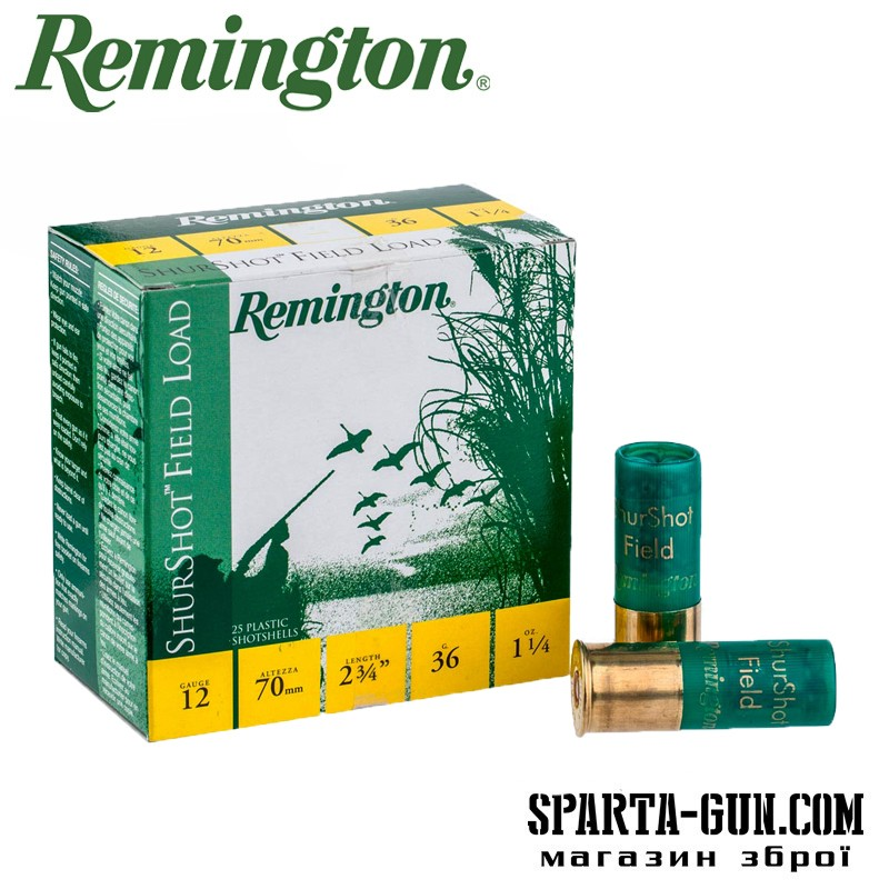 Remington BP Shurshot Field Load 36 (0)