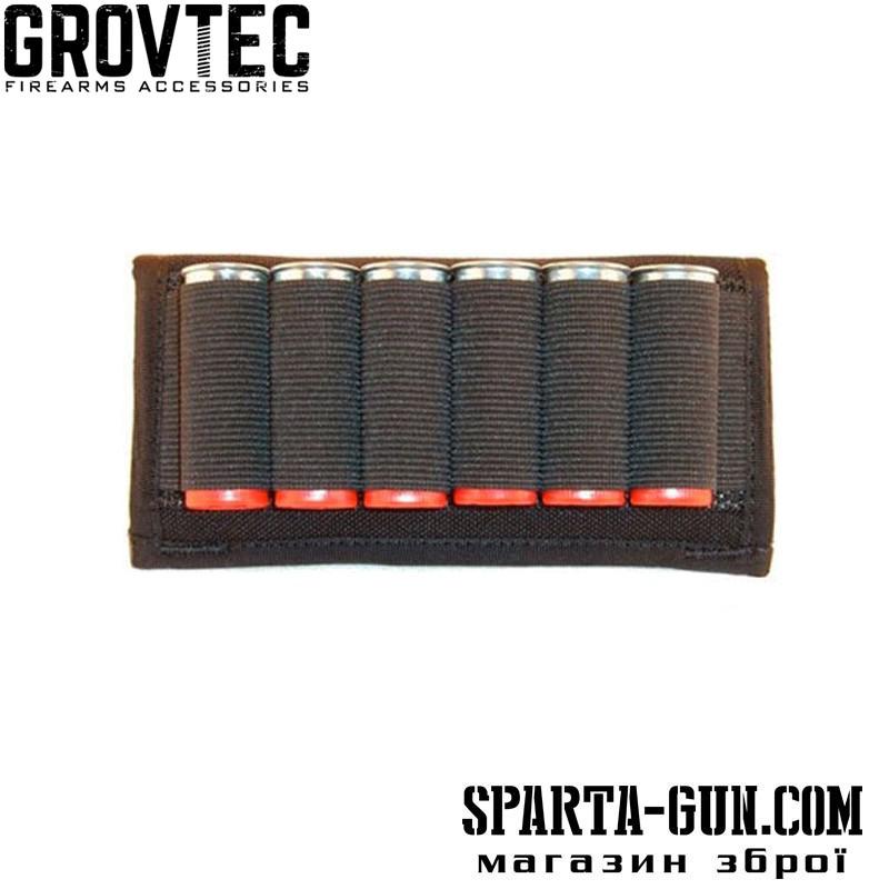 Подсумок поясной GrovTec на 6 ружейных патронов