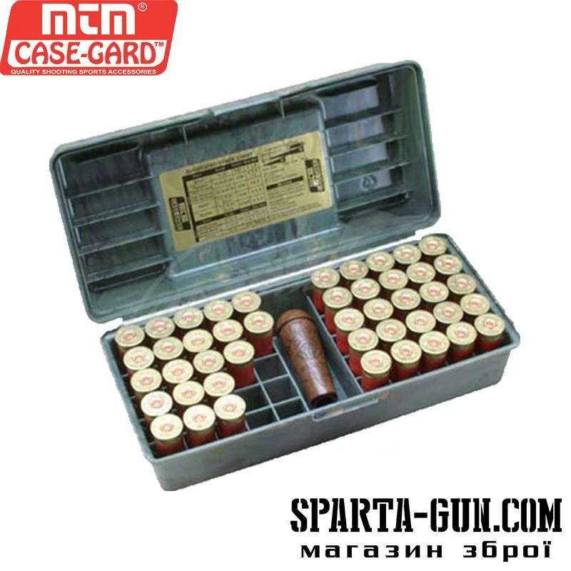 Коробка MTM Shotshell Case на 50 патронов кал. 12/76. Цвет – камуфляж