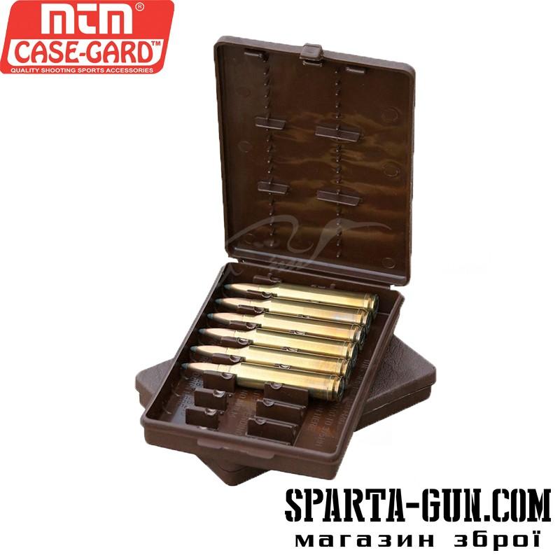 Коробка MTM Ammo Wallet на 9 патронов кал. 308 Win; 30-06. Цвет - коричневый