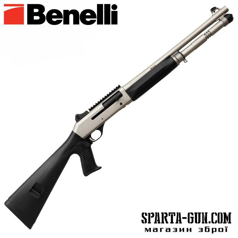 "Ружье охотничье Benelli M4 S90 Cerakote Silver кал.12 18,5"""