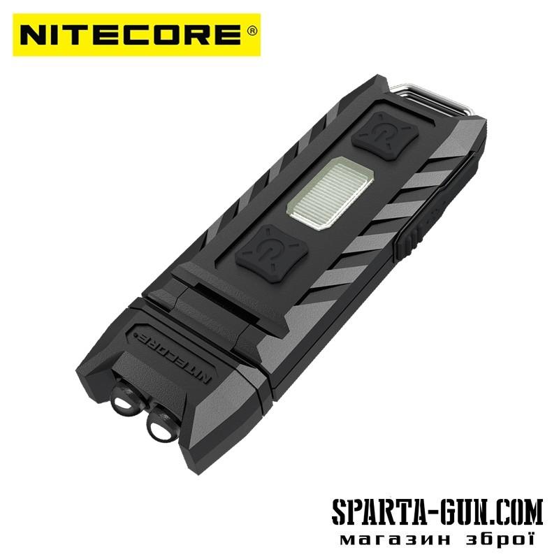 Фонарь многофункциональный Nitecore THUMB (2xLED+2хRED, 85 люмен, 6 режимов, USB)