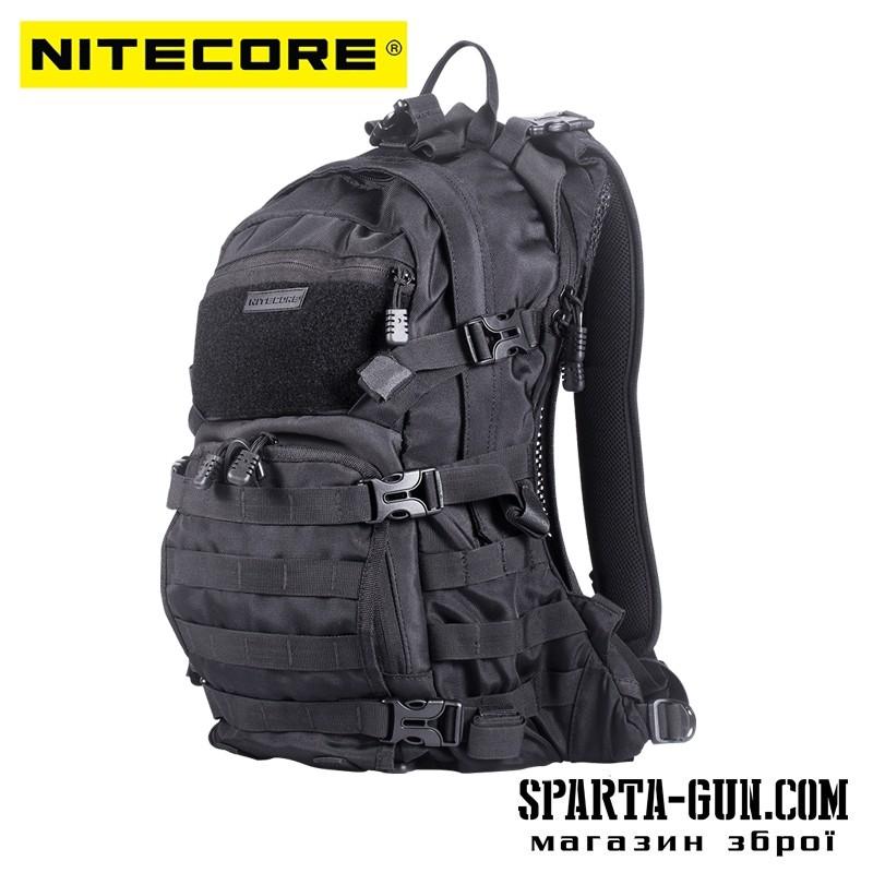 Рюкзак тактический Nitecore BP20 (Cordura 1000D), черный