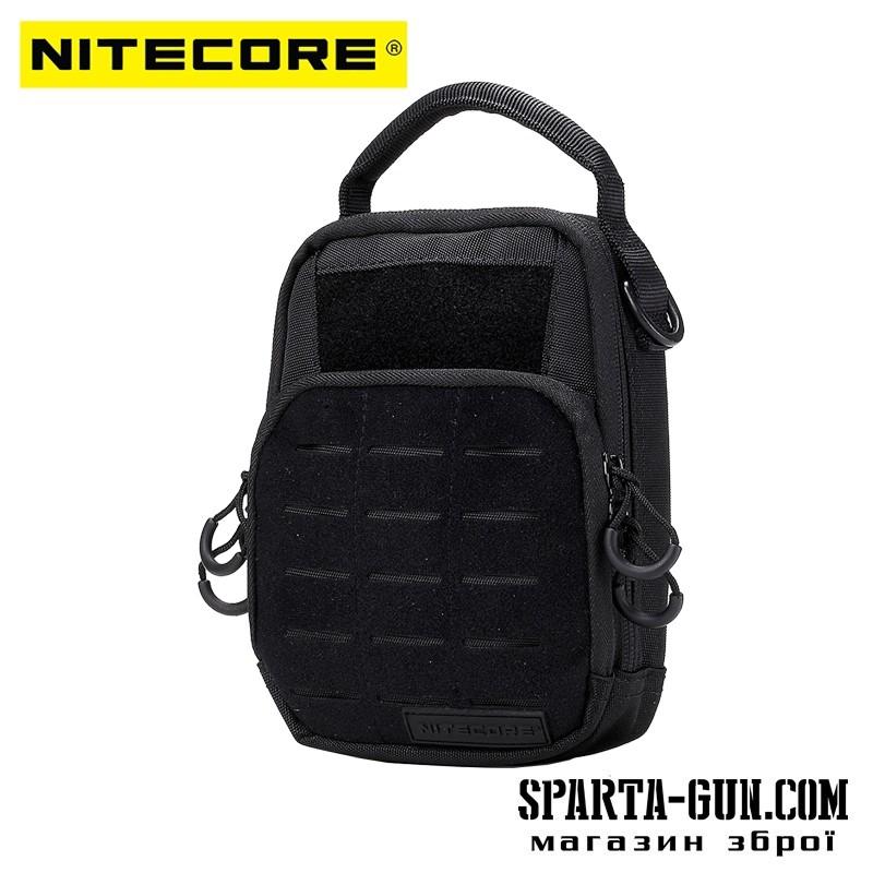 Сумка EDC, тактическая Nitecore NDP20 (Cordura 1000D), черная