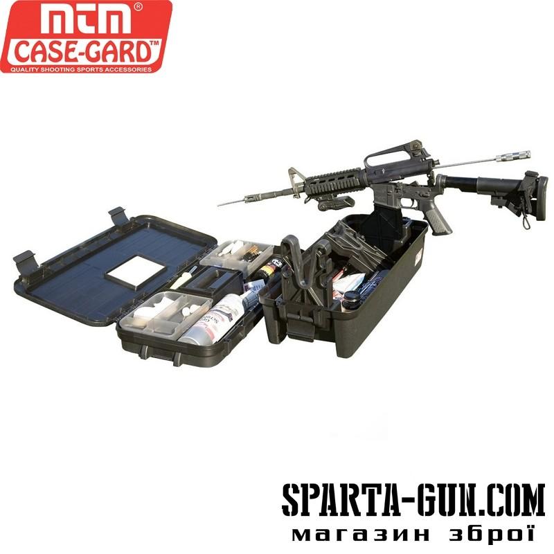 Кейс MTM Tactical Range Box польовий для чищення та догляду за АК/AR15
