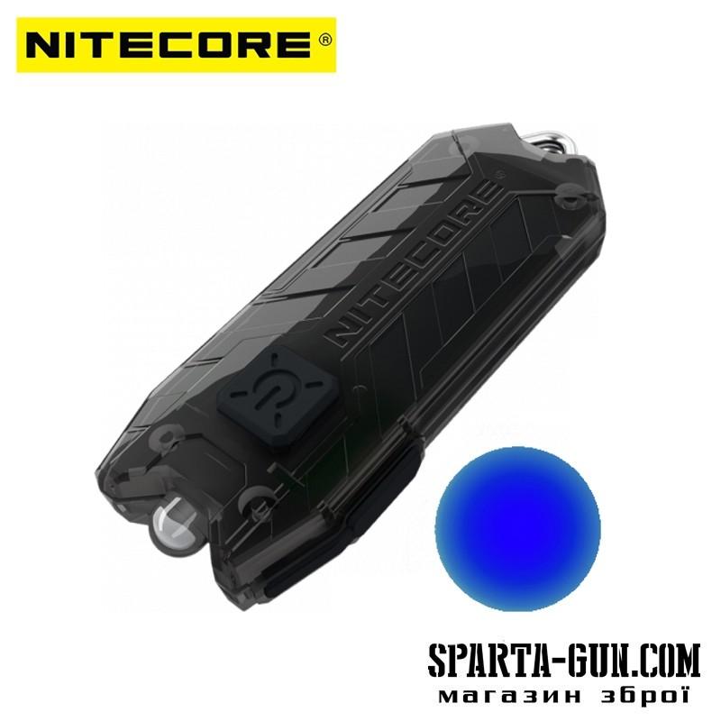 Фонарь Nitecore TUBE BL (Blue LED 500mW, 4 люмен, 1 режим, USB)