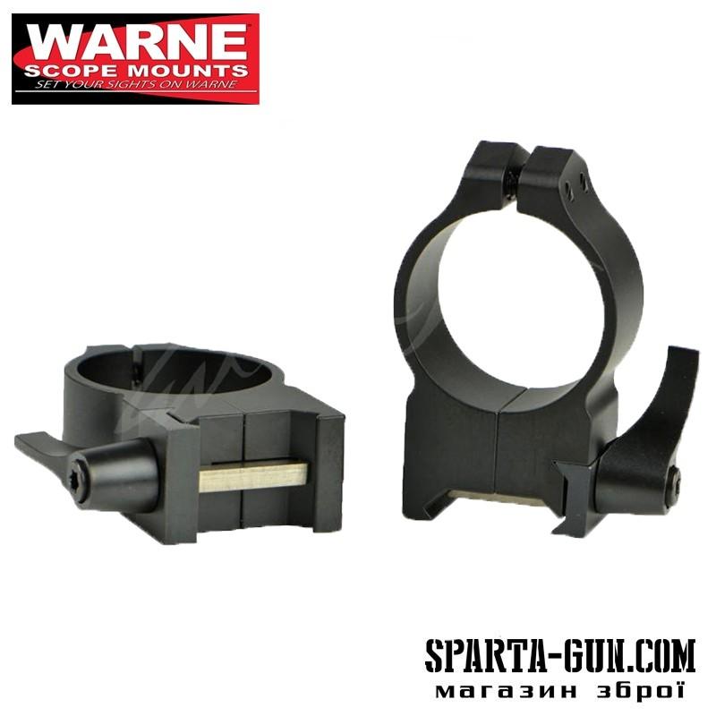 Кольцa быстросъемные Warne MAXIMA Quick Detach Rings