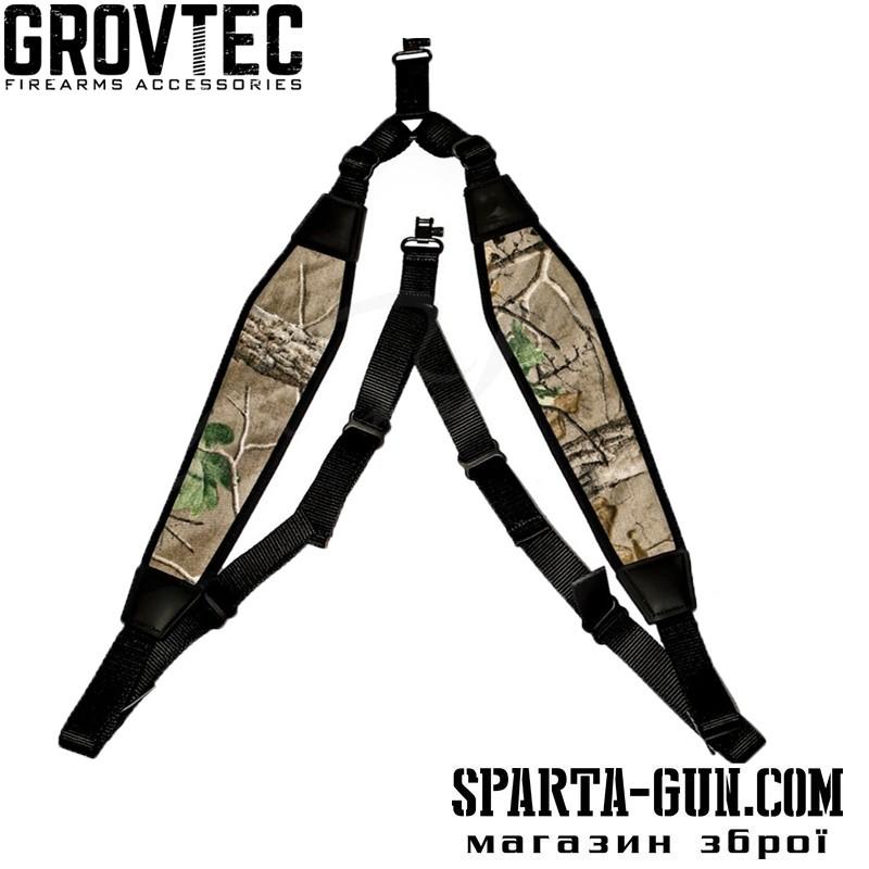 Ремень ружейный GrovTec двухточечный биатлонного типа