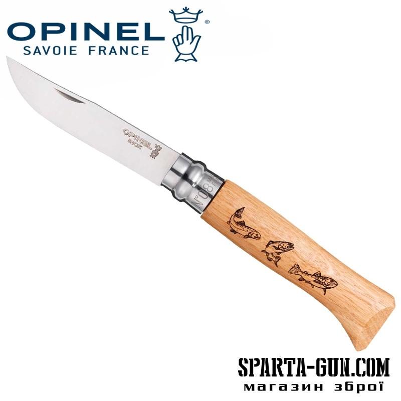 """Нож Opinel №8 Animalia """"Форель"""""""