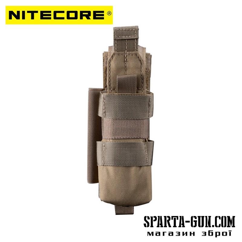 Чехол тактический многофункциональный Nitecore NCP40, tan