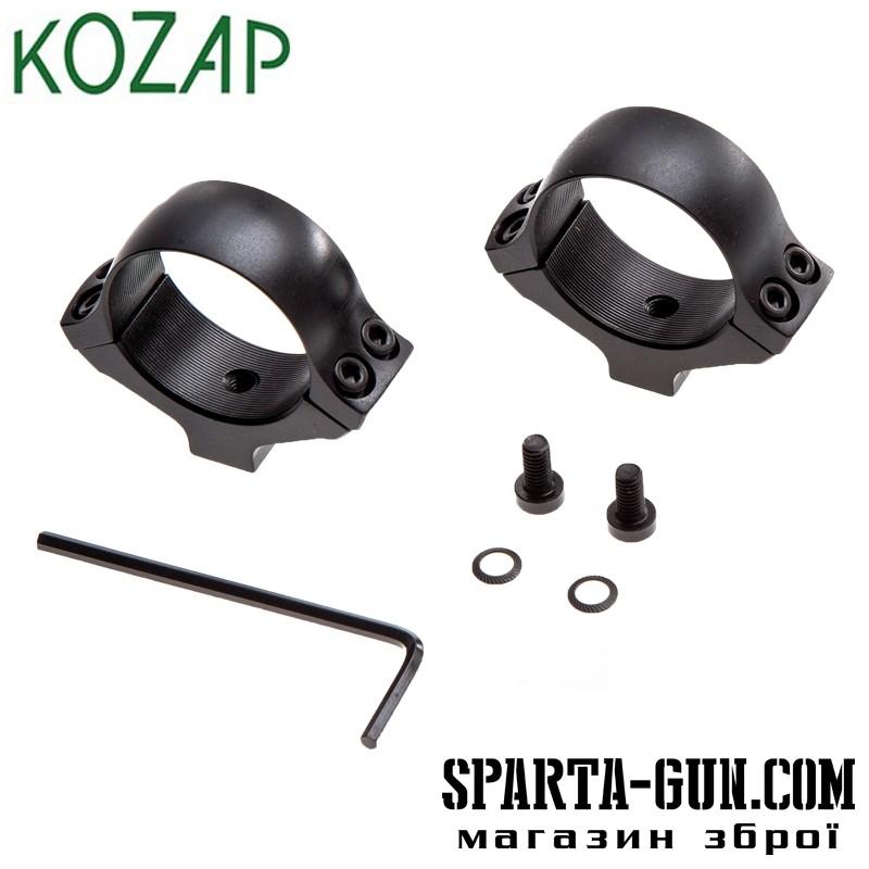 Кольца Kozap 30 мм средние