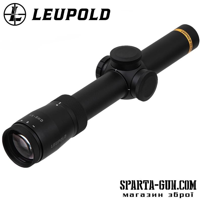 Прицел оптический LEUPOLD VX-5HD 1-5x24 (30mm) Metric Illum. FireDot 4 Fine
