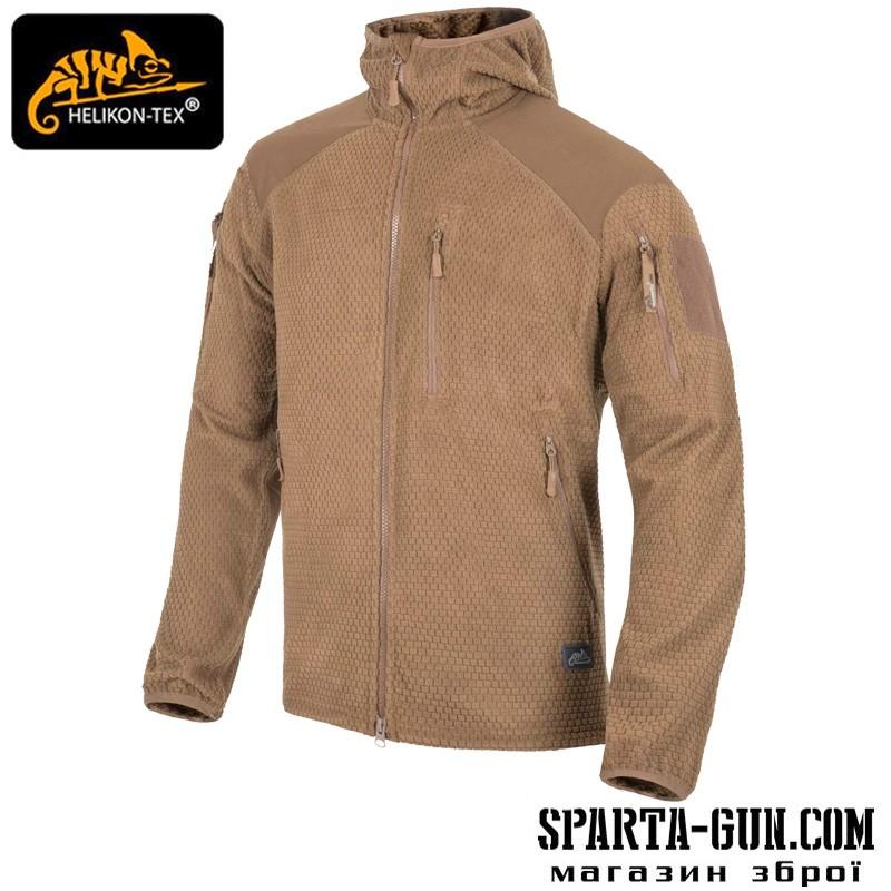 Куртка ALPHA HOODIE - Grid Fleece