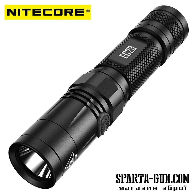 Фонарь Nitecore EC23 (Cree XNP35 HD E2 LED, 1800 люмен, 5 режимов, 1х18650)