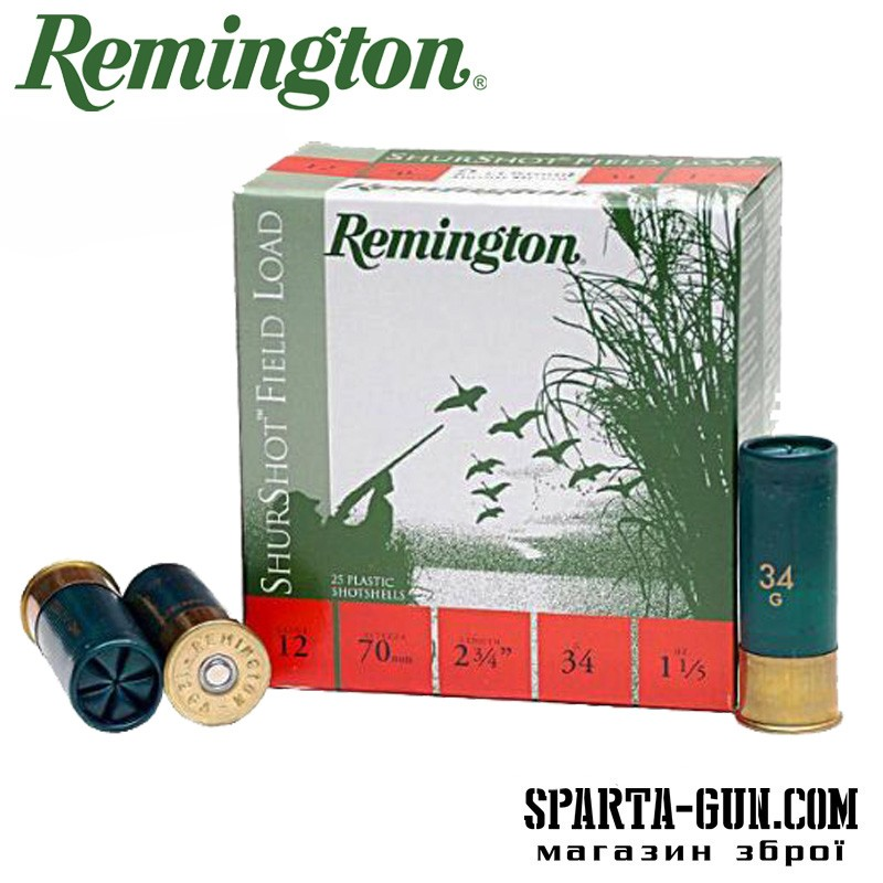 Remington BP Shurshot Field Load 34 (2/0)