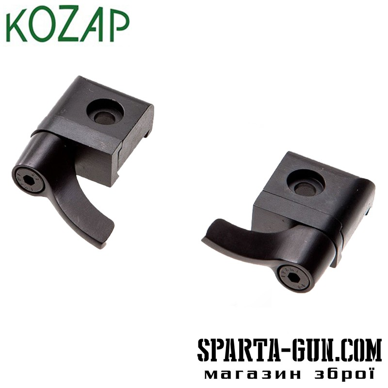 База KOZAP быстросъемная CZ 527 (64) 2 части