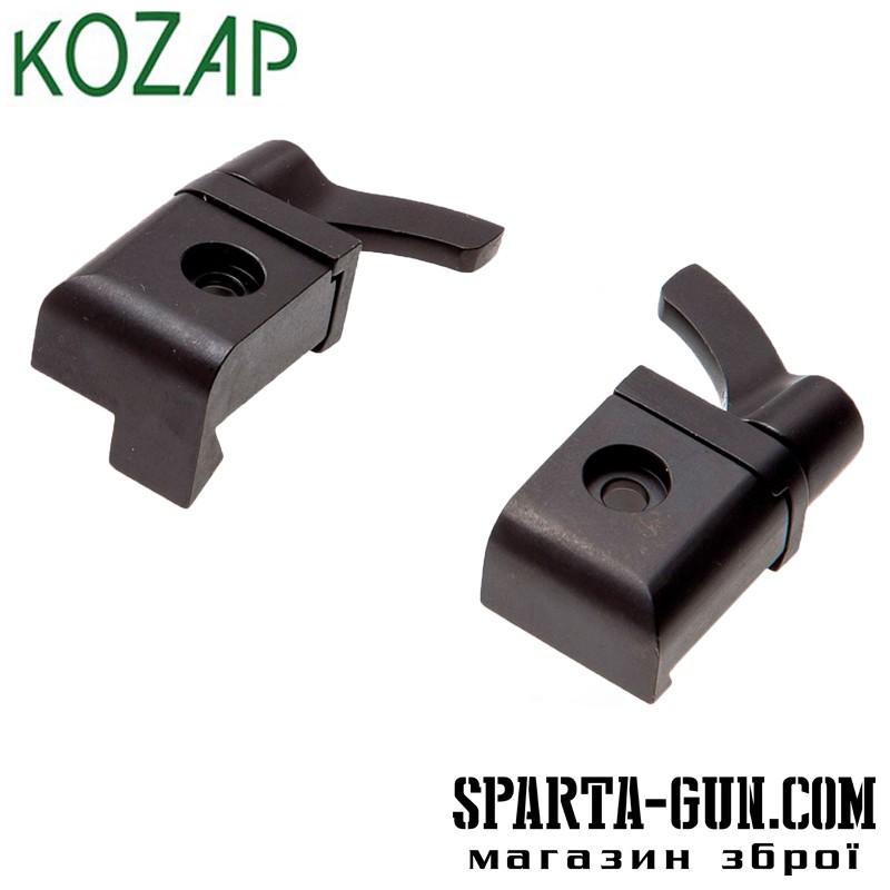 База KOZAP быстросъемная на CZ 550/557 (61) 2 части