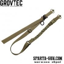 Ремень руж. GrovTec двухточечный с QD антабкой