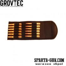 Подсумок на пояс складной GrovTec на 12 винтовочных патронов