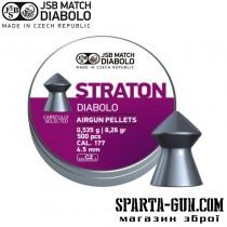 Пули пневматические JSB Diabolo Straton 0,53