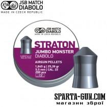 Пули пневматические JSB Diabolo Straton Jumbo Monster 1,645