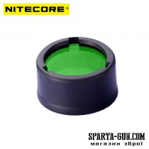 Диффузор фильтр для фонарей Nitecore NFG23 (22-23mm), зеленый