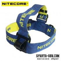 Крепление наголовное для велофар Nitecore Headband HB03