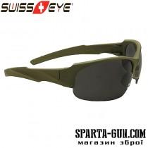 Очки Swiss Eye Armored. Цвет - оливковый