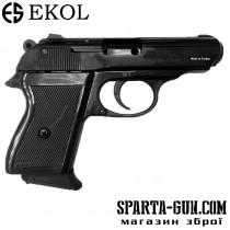 Шумовой пистолет Voltran Ekol Major Black