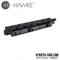Планка Hawke Adaptor Base 11мм - Weaver Elevated