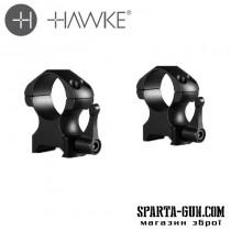 "Крепление-кольца Hawke Precision Steel 1"""