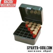 Коробка MTM Dual Gauge Shotshell Case универсальная на 25 патронов 12/16/20 кал