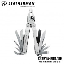 Мультитул LEATHERMAN Super Tool 300, кожаный чехол