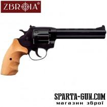 "Револьвер Флобера ZBROIA Super Snipe 6"" (дерево)"