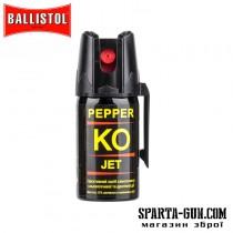 Газовый баллончик Klever Pepper KO Jet струйный. Объем - 40 мл