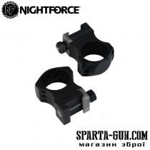 Крепление Nightforce X-Treme Duty - Ultralite кольца. 2 шт. 30 мм