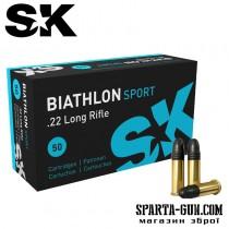 Патрон SK Biathlon Sport кал.22 LR пуля 2,59 г