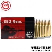 Патрон GECO кал.223 Rem пуля VM масса 55gr/3.56г