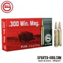 Патрон GECO кал.300 Win Mag пуля Plus масса 11 г